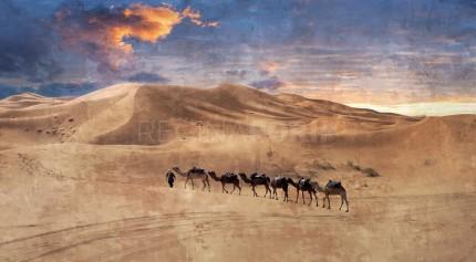 Marokko Sahara 2 – 100 x 55 cm