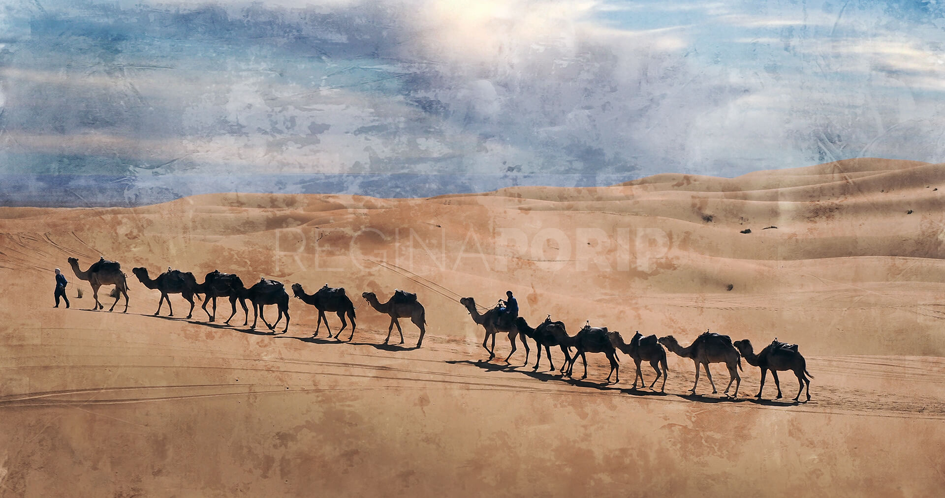 Marokko Sahara 3 – 100 x 50 cm