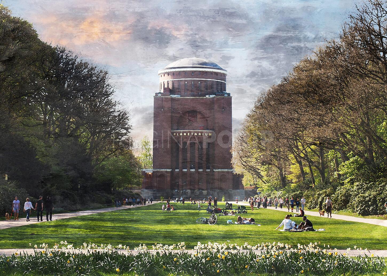 Hamburg Planetarium 1  –  100 x 70 cm