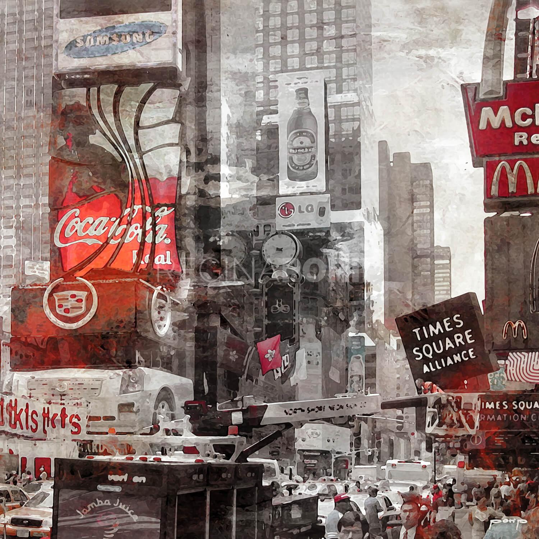 New York 7  –  100 x 100 cm
