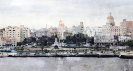 Skyline Havanna  –  130 x 70 cm