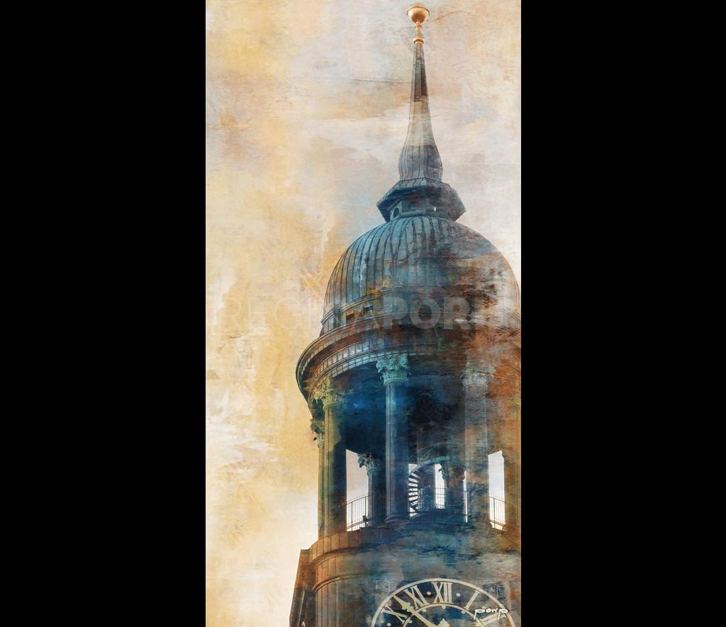 Hamburg Michel 7  –  60 x 120 cm