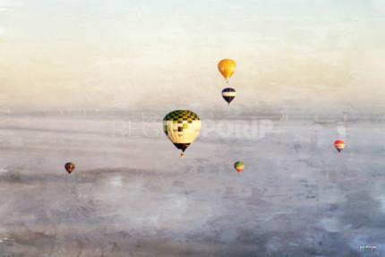 Heißluftballon 2  –  120 x 80 cm