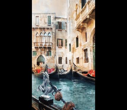Italien Venedig 25  –  80 x 140 cm