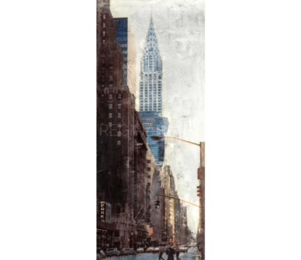 New York City Chrysler Building  –  50 x 120 cm