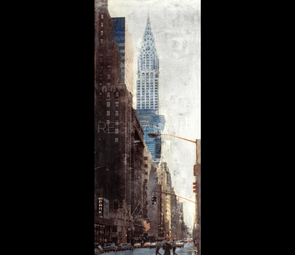 New York City Chrysler Building  –  50 x 120 cm