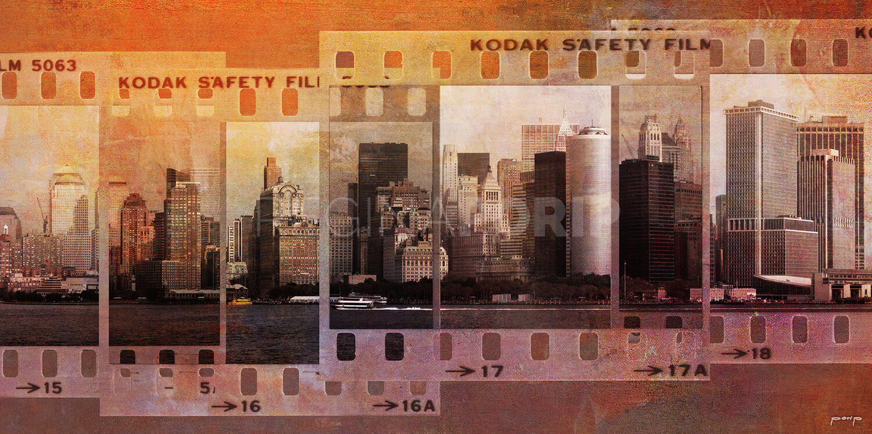 New York City Skyline  –  200 x 100 cm