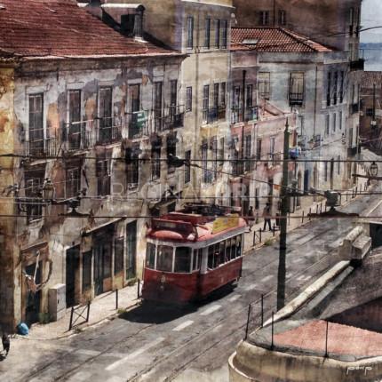 Portugal – Lissabon 1  –  100 x 100 cm