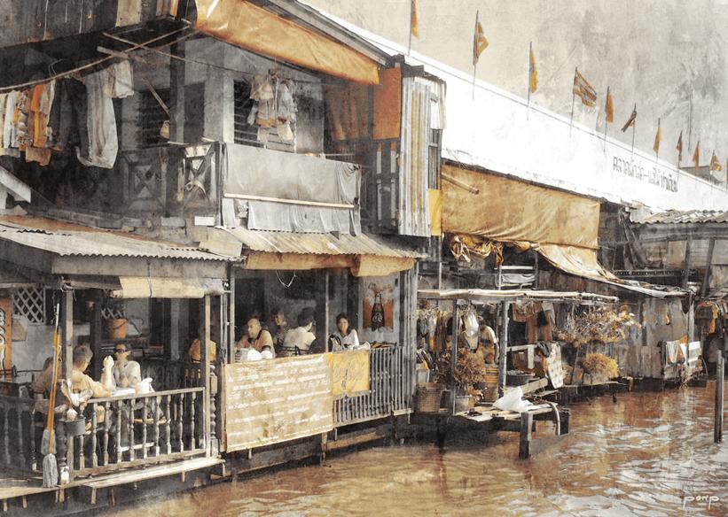 Thailand 11  –  100 x 70 cm