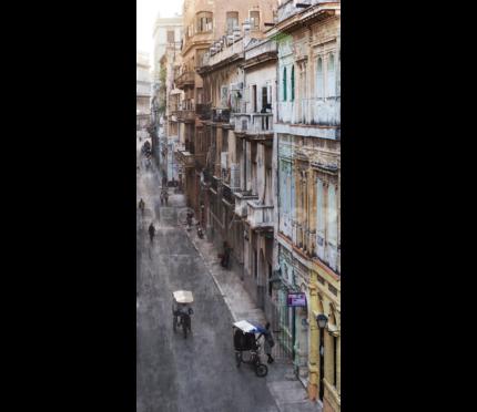 Kuba – Havanna 14 –  50 x 103 cm – Alu Dibond Plexi