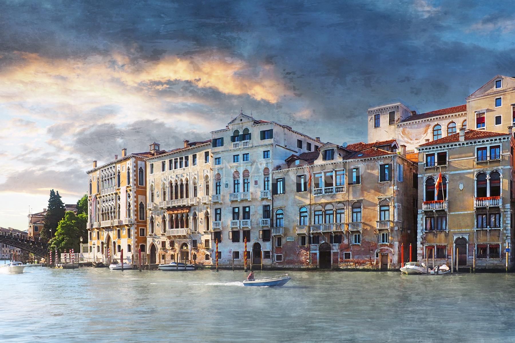 Venedig 47  –  75 x 50 cm  – Alu – Dibond – Plexi