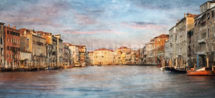 Venedig 48  –  100 x 45  –  Canvas Leinwand