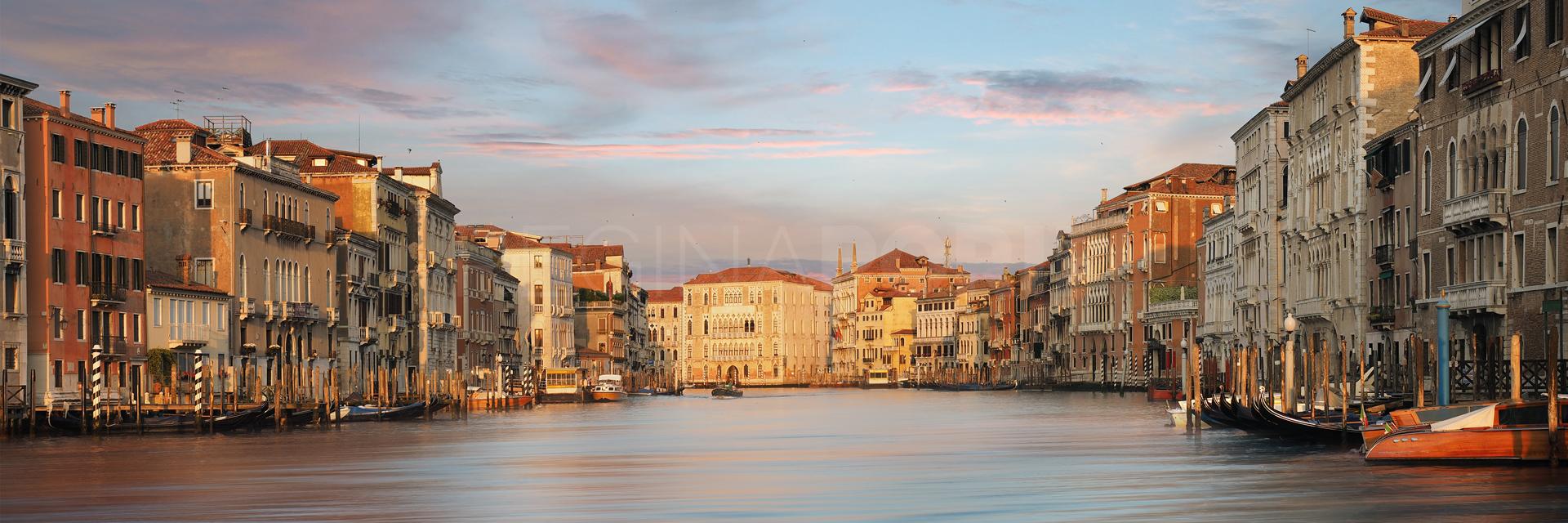 Venedig 48 Fotografie  –  90 x 30 cm  – Alu Dibond Plexi