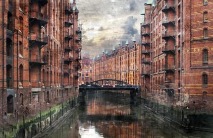 Hamburg Speicherstadt 28  –  100 x 65
