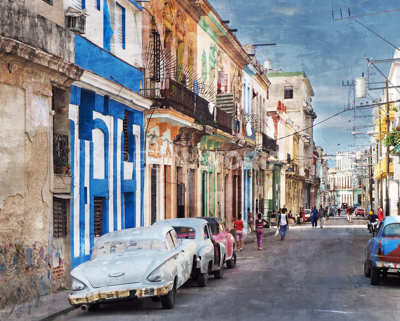 Kuba Havanna 19  –  125 x 100 cm