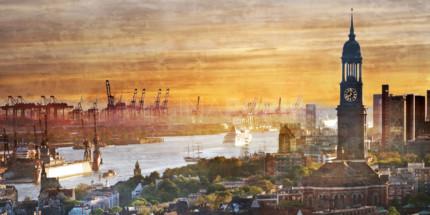 Hamburg Hafen 95  –  120 x 60 cm