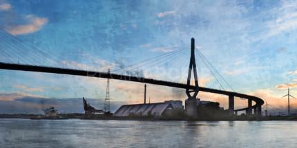 Hamburg Hafen 98 – 120 x 60 cm