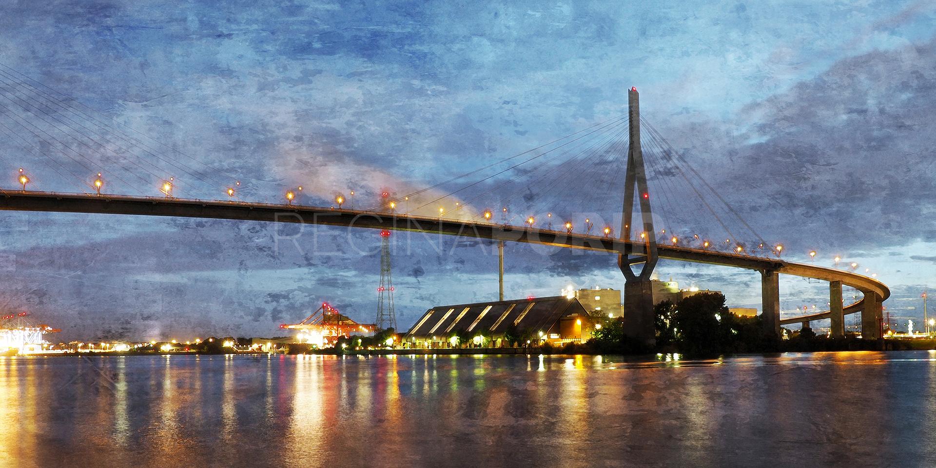 Hamburg Hafen 99 – 120 x 60 cm