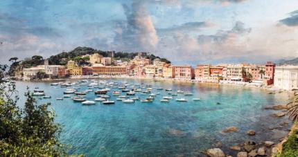 Italien – Sestri Levante – 120 x 67 cm – hinter Acrylglas