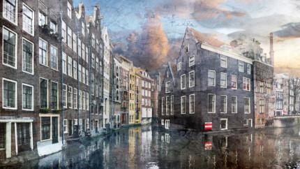 Niederlande – Amsterdam 10 – 120 x 67 cm