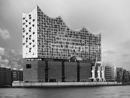 Hamburg – Elbphilharmonie 0.6 – 100 x 75 cm – hinter Acrylglas
