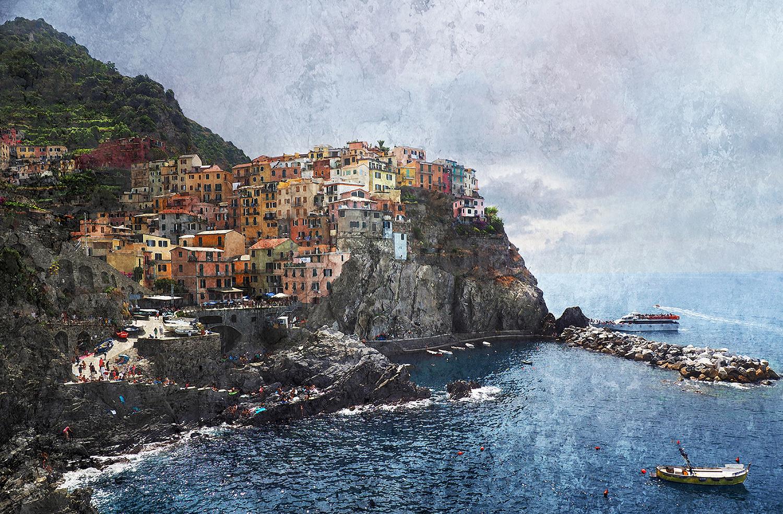 Italien – Cinque Terre – Manarola 1 – 120 x 80 cm