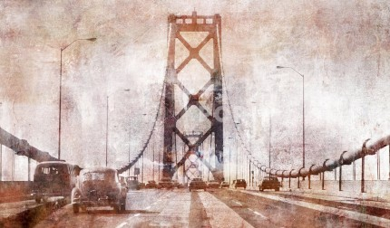 Kalifornien Bay Bridge 7 – 140 x 85 cm