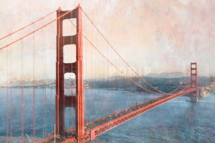 San Francisco Golden Gate Bridge 4 – 100 x 65 cm