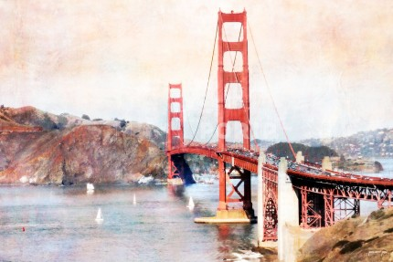 San Francisco Golden Gate Bridge 2 – 120 x 80 cm
