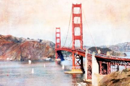 San Francisco Golden Gate Bridge 2 – 120 x 80 cm