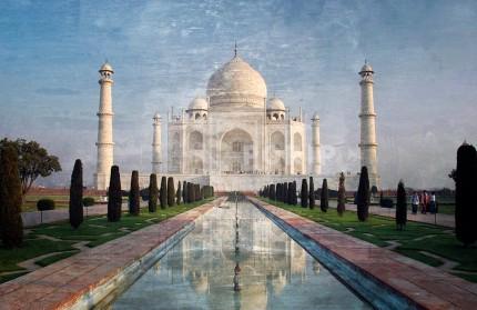 Asien Indien Tajmahal 2 – 70 x 45 cm