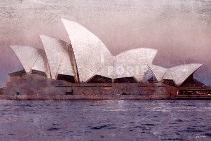 Australien Sydney Oper 2 – 80 x 50 cm