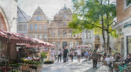 Bielefeld 1a – 65 x 35 cm