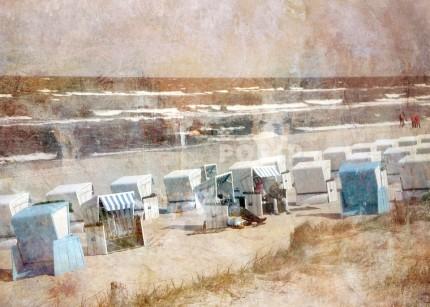 Strandkörbe 1 Usedom – 70 x 50 cm