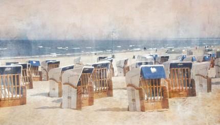 Strandkörbe 3 Usedom – 110 x 60 cm