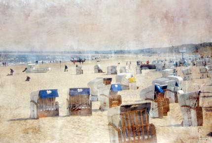 Strandkörbe 4 Usedom – 80 x 55 cm