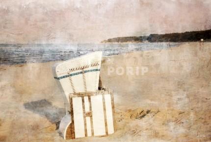 Strandkörbe 6 Usedom – 60 x 40 cm