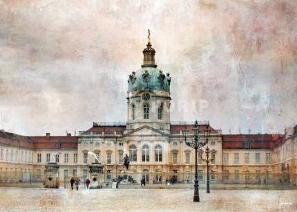 Berlin 8 Schloss Charlottenburg – 120 x 85 cm