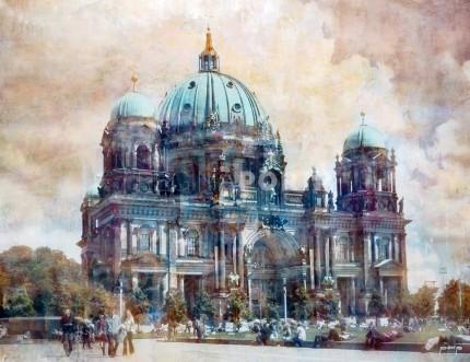 Berlin 1 – Dom – 60 x 45 cm