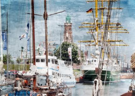 Bremerhaven 1 mit Alexander von Humboldt – 90 x 65 cm