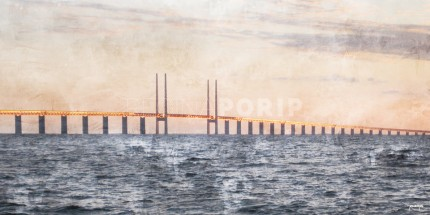 Öresundbrücke – 50 x 25 cm