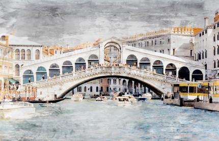 Venedig 10 Rialto – 85 x 55 cm