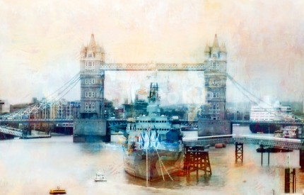 London Towerbridge – 100 x 65 cm