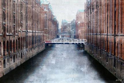 Hamburg Speicherstadt 8 – 60 x 40 cm