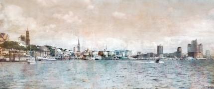 Hamburg Hafen 34 – 120 x 50 cm