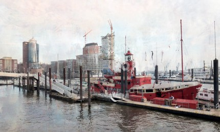 Hamburg Hafen 5 – 100 x 60 cm