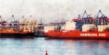 Hamburg Hafen 23 – 100 x 50 cm