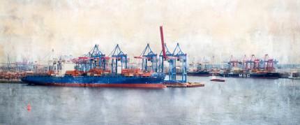 Hamburg Hafen 42 – 120 x 50 cm
