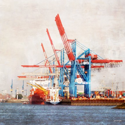 Hamburg Hafen 43 – 100 x 100 cm