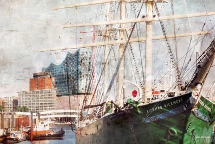 Hamburg Hafen 44 – 90 x 60 cm